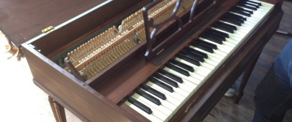 Crazy Small Spinet Piano