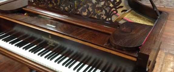 Very rare civil war era Steinway Concert Grand