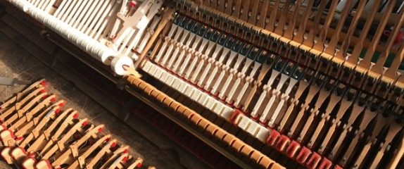 Rebuilding a Steinway grand action