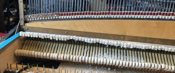 Restoring a Rhodes piano from the 1960's