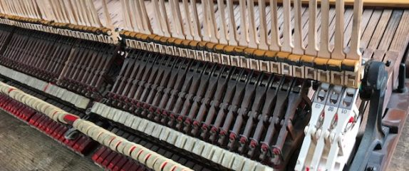Rebuilding an action on antique Steinway ex-player piano
